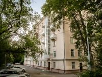 Басманный район, Волховский переулок, дом 21/23. многоквартирный дом