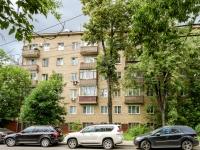 Басманный район, улица Доброслободская, дом 16 к.1. многоквартирный дом