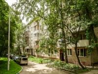 Басманный район, улица Доброслободская, дом 16 к.2. многоквартирный дом