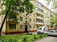 Басманный район, улица Доброслободская, дом 16 к.3. многоквартирный дом