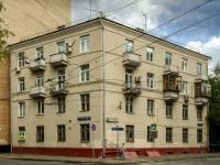 Басманный район, улица Доброслободская, дом 17. многоквартирный дом