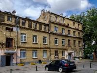 Басманный район, улица Бакунинская, дом 11 с.3. многоквартирный дом