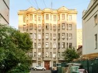 Басманный район, Переведеновский переулок, дом 4 с.1. многоквартирный дом