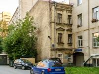 Басманный район, Переведеновский переулок, дом 4 с.2. многоквартирный дом