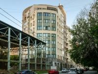 Басманный район, Переведеновский переулок, дом 6А. многоквартирный дом