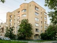 Басманный район, Переведеновский переулок, дом 9. многоквартирный дом