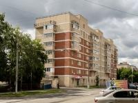 Басманный район, улица Большая Почтовая, дом 16. многоквартирный дом