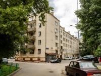 Басманный район, улица Большая Почтовая, дом 18/20К17. многоквартирный дом