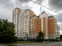 Басманный район, набережная Рубцовская, дом 4 к.1. многоквартирный дом