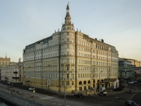 Замоскворечье, улица Балчуг, дом 1. гостиница (отель) Балчуг Кемпински