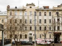 Замоскворечье, Озерковский переулок, дом 9. многоквартирный дом