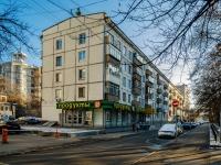 Замоскворечье, улица Татарская, дом 7 с.1. многоквартирный дом