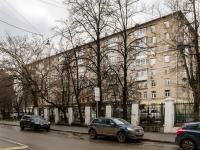 Замоскворечье, улица Татарская, дом 14. многоквартирный дом