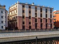 Замоскворечье, проезд Кожевнический, дом 1. офисное здание