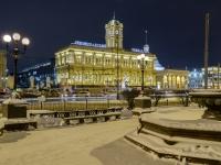Красносельский район, вокзал Ленинградский, площадь Комсомольская, дом 3