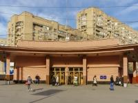 Красносельский район, улица Краснопрудная. станция метро Красносельская