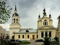 улица Нижняя Красносельская, дом 12 с.1. храм Покрова Пресвятой Богородицы в Красном селе