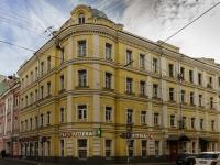 Большой Сухаревский переулок, house 2/24. многоквартирный дом