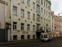 Большой Сухаревский переулок, house 4. многоквартирный дом