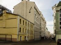 Большой Сухаревский переулок, house 6/8. многоквартирный дом