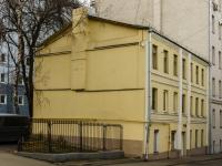 Большой Сухаревский переулок, house 10. многоквартирный дом