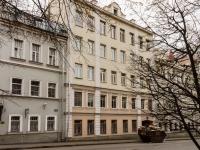 Большой Сухаревский переулок, house 18. многоквартирный дом