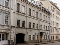 Большой Сухаревский переулок, house 20. многоквартирный дом