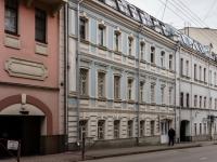 Большой Сухаревский переулок, house 22. многоквартирный дом