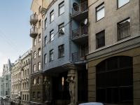 Мещанский район, Последний переулок, дом 7. многоквартирный дом