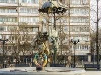 """Мещанский район, Цветной бульвар. фонтан """"Старый цирк"""""""