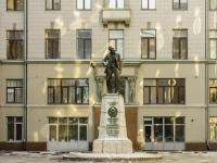 Мещанский район, улица Большая Лубянка. памятник В.В. Воровскому