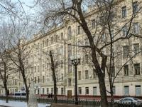 Мещанский район, Рождественский бульвар, дом 17. многоквартирный дом