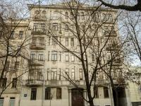 Мещанский район, Рождественский бульвар, дом 19. многоквартирный дом
