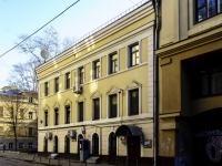 Мещанский район, Малый Кисельный переулок, дом 4 к.1. многоквартирный дом