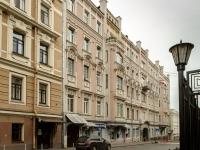Мещанский район, Варсонофьевский переулок, дом 4 с.1. многоквартирный дом