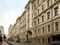 Мещанский район, Варсонофьевский переулок, дом 6. офисное здание