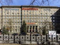 """Мещанский район, площадь Суворовская, дом 2 с.3. гостиница (отель) """"Славянка"""""""