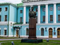 Мещанский район, площадь Суворовская. памятник М.В. Фрунзе