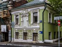 "Meshchansky district, 名胜古迹 ""Дом с кариатидами"", Pechatnikov alley, 房屋 7"