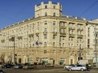 Пресненский район, Тверской бульвар, дом 1. многоквартирный дом