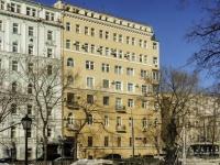 Пресненский район, Тверской бульвар, дом 19. многоквартирный дом