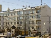 Пресненский район, Никитский бульвар, дом 25. многоквартирный дом