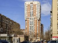 Пресненский район, улица Большая Декабрьская, дом 1. многоквартирный дом