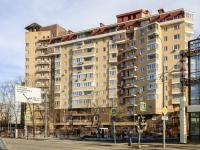 Пресненский район, улица Большая Декабрьская, дом 10. многоквартирный дом