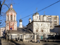Пресненский район, Богословский переулок, дом 4. храм святого апостола и евангелиста Иоанна Богослова на Бронной