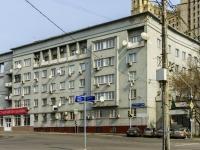 Пресненский район, улица Конюшковская, дом 28. многоквартирный дом