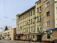 Пресненский район, улица Конюшковская, дом 32. многоквартирный дом