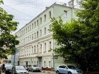 Пресненский район, Скатертный переулок, дом 23. многоквартирный дом