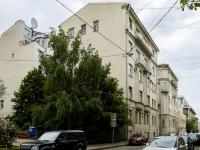 Пресненский район, Скатертный переулок, дом 24. многоквартирный дом