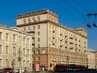 Пресненский район, улица Садовая-Кудринская, дом 7 с.1. многоквартирный дом